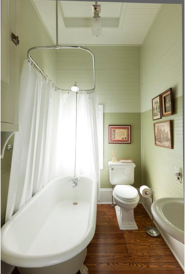 Ванна за шторой