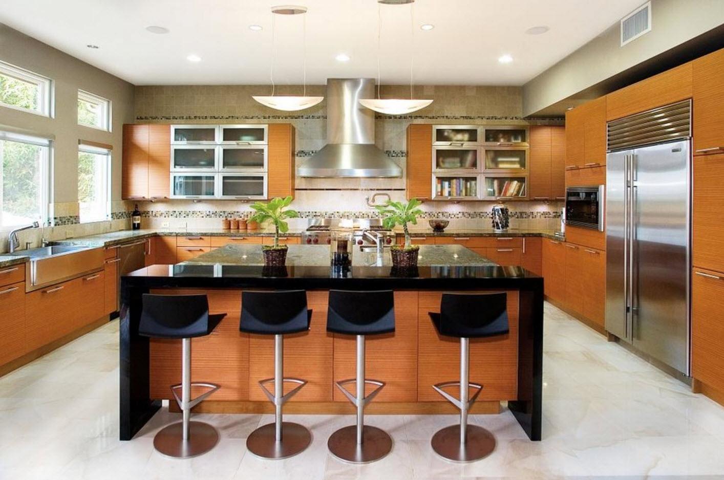П-образный кухонный ансамбль