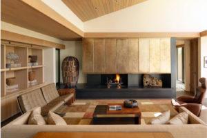 Интерьер современной гостиной частного дома