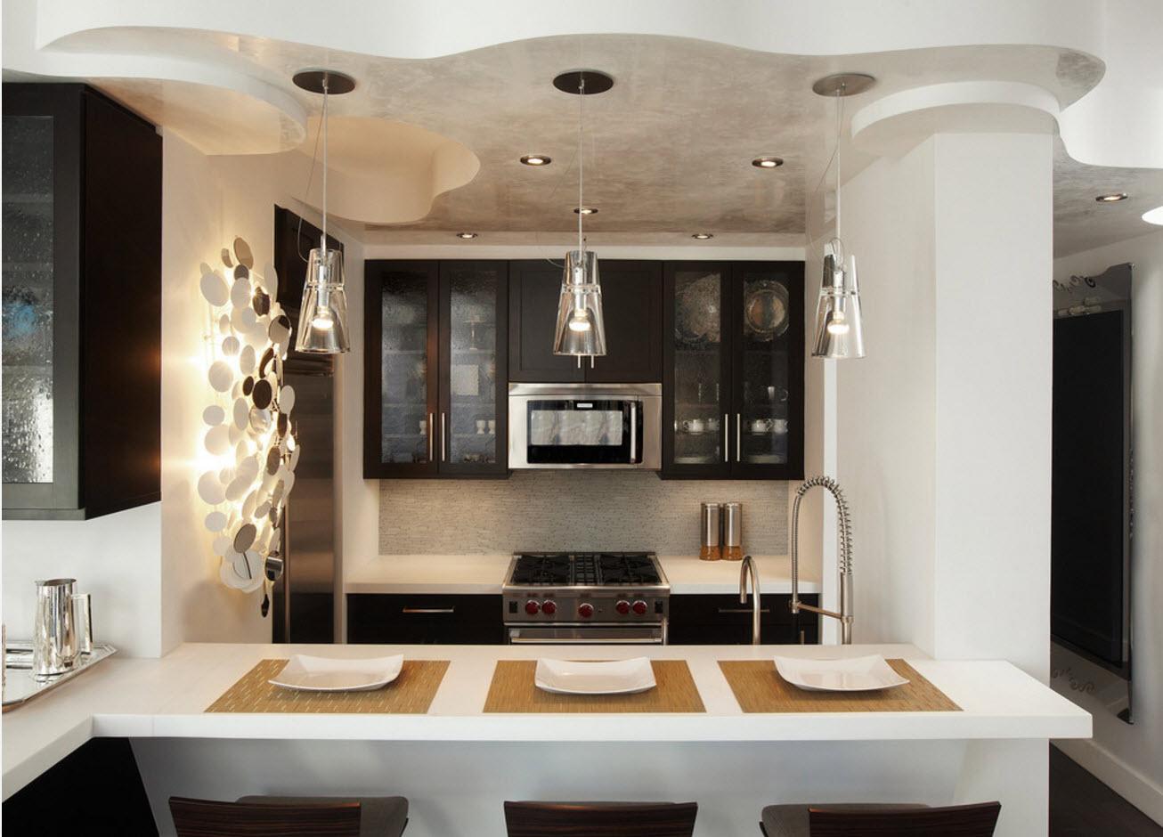 Оригинальный кухонный дизайн