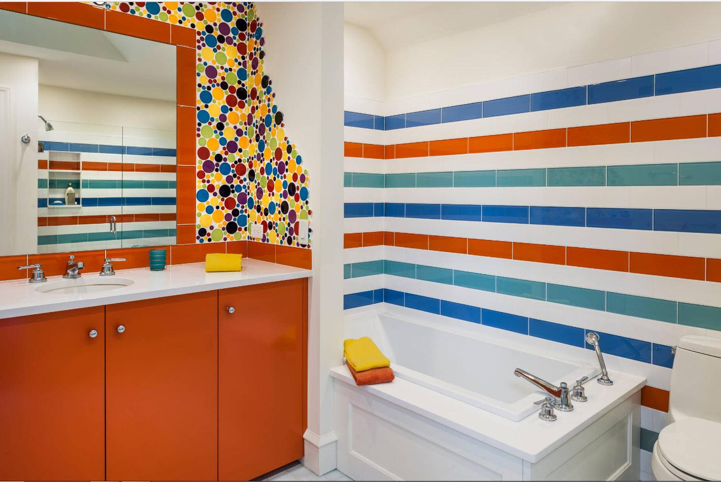 Идеи цвета плитки для ванной фото