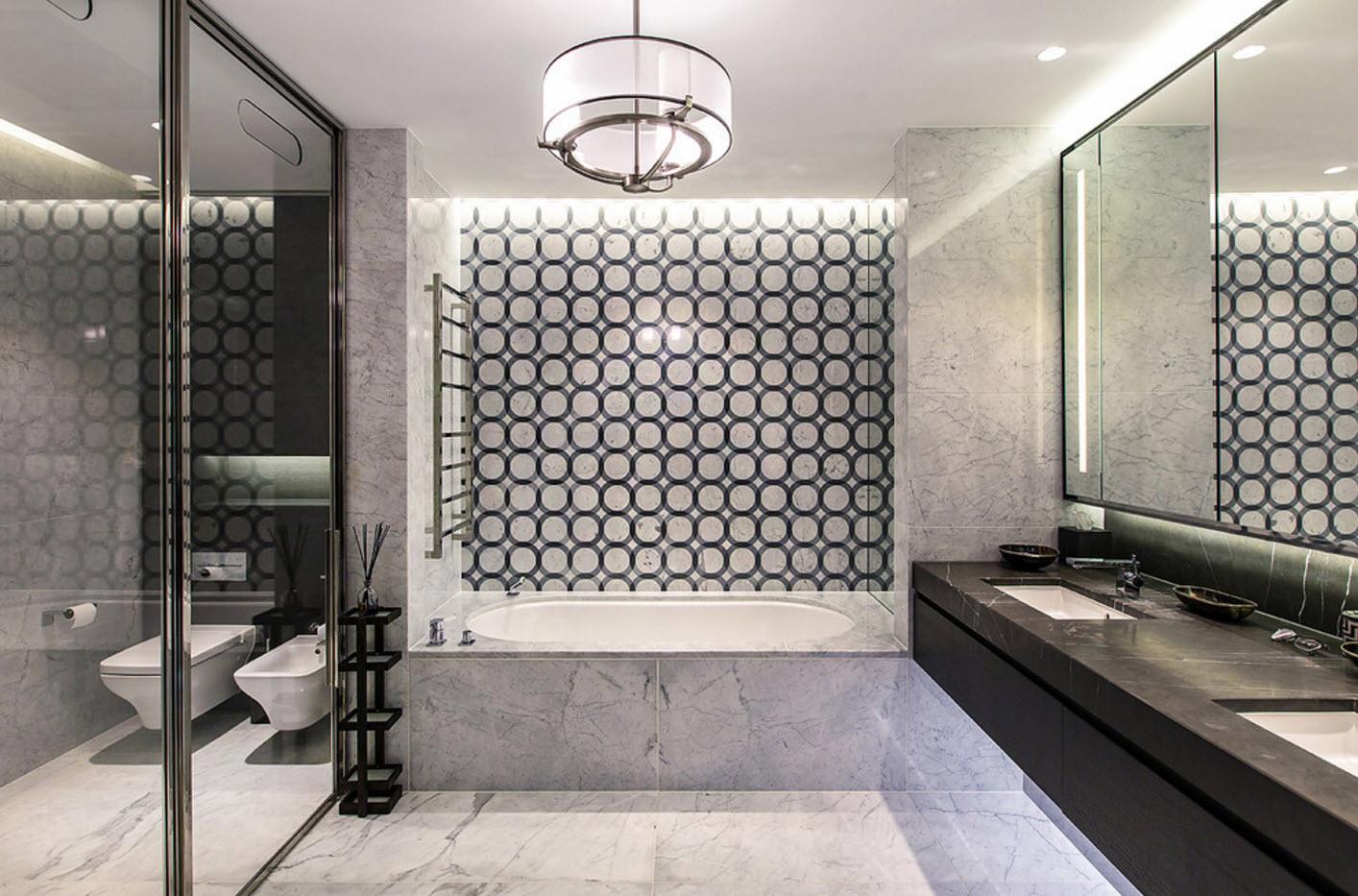 Сияющая ванная комната
