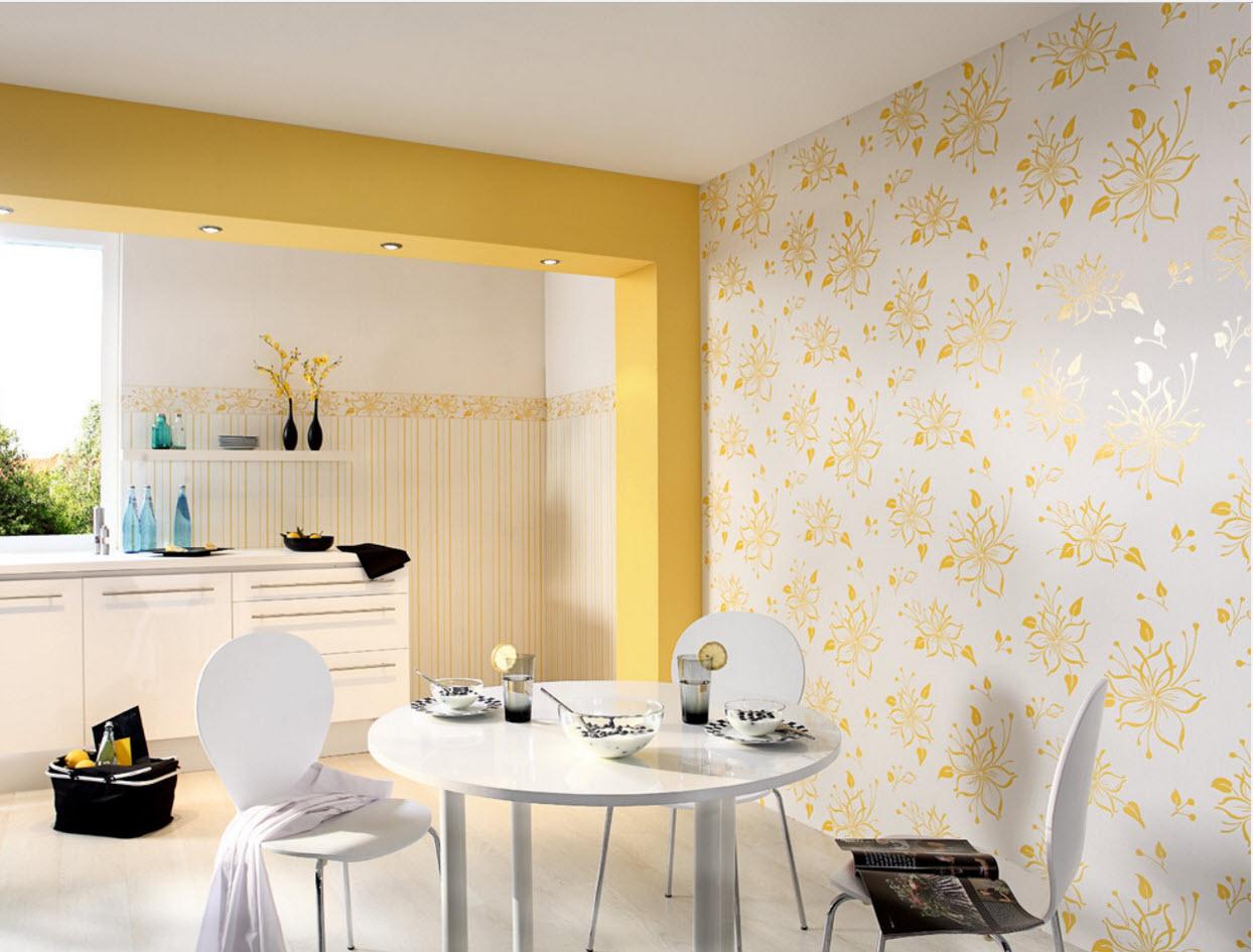 Дизайн кухни обои фото