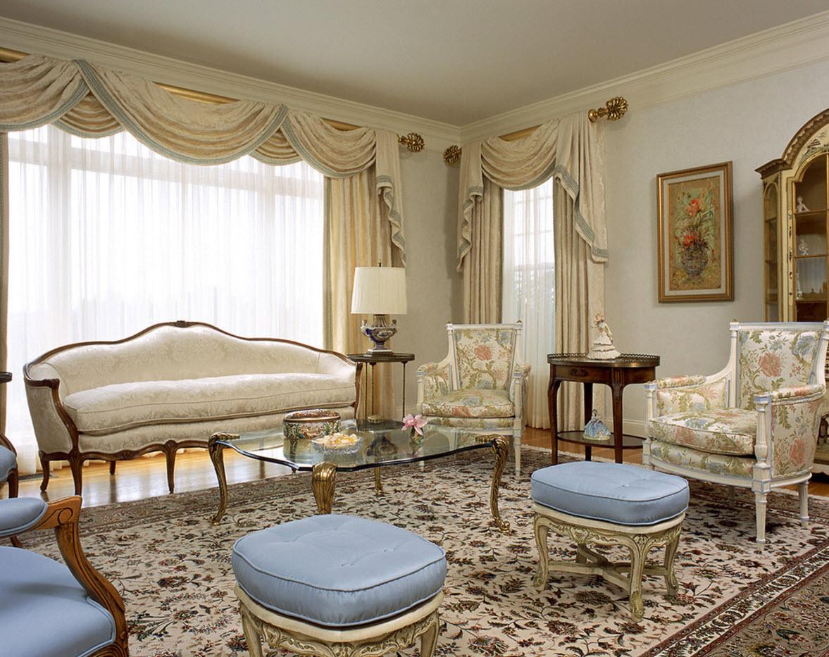 В классической гостиной
