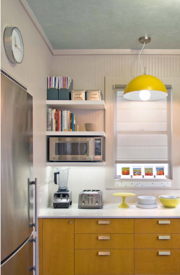 Акценты для маленькой кухни