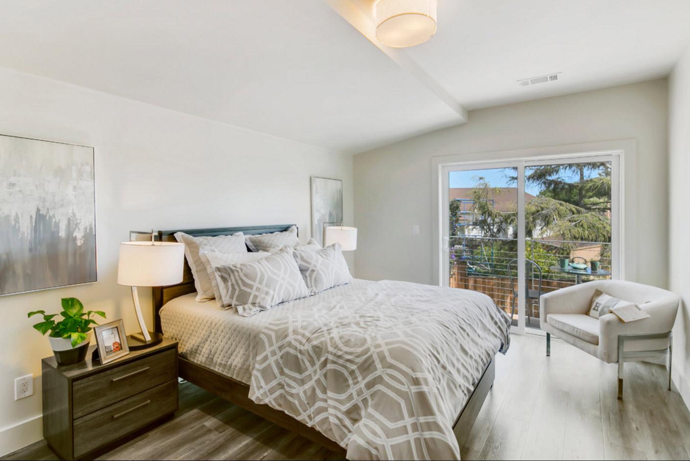 Ламинат для дизайна спальни