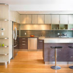 Угловая планировка кухни – дизайн 2018 года