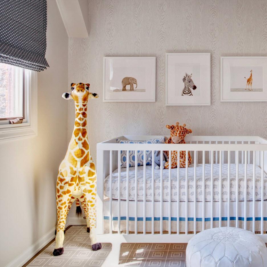 Оформление комнаты для новорожденного
