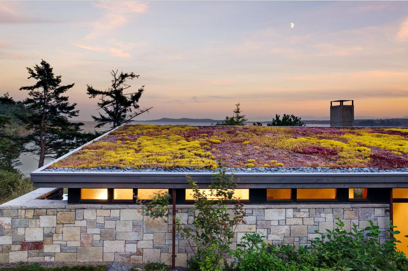 Эксплуатируемая крыша