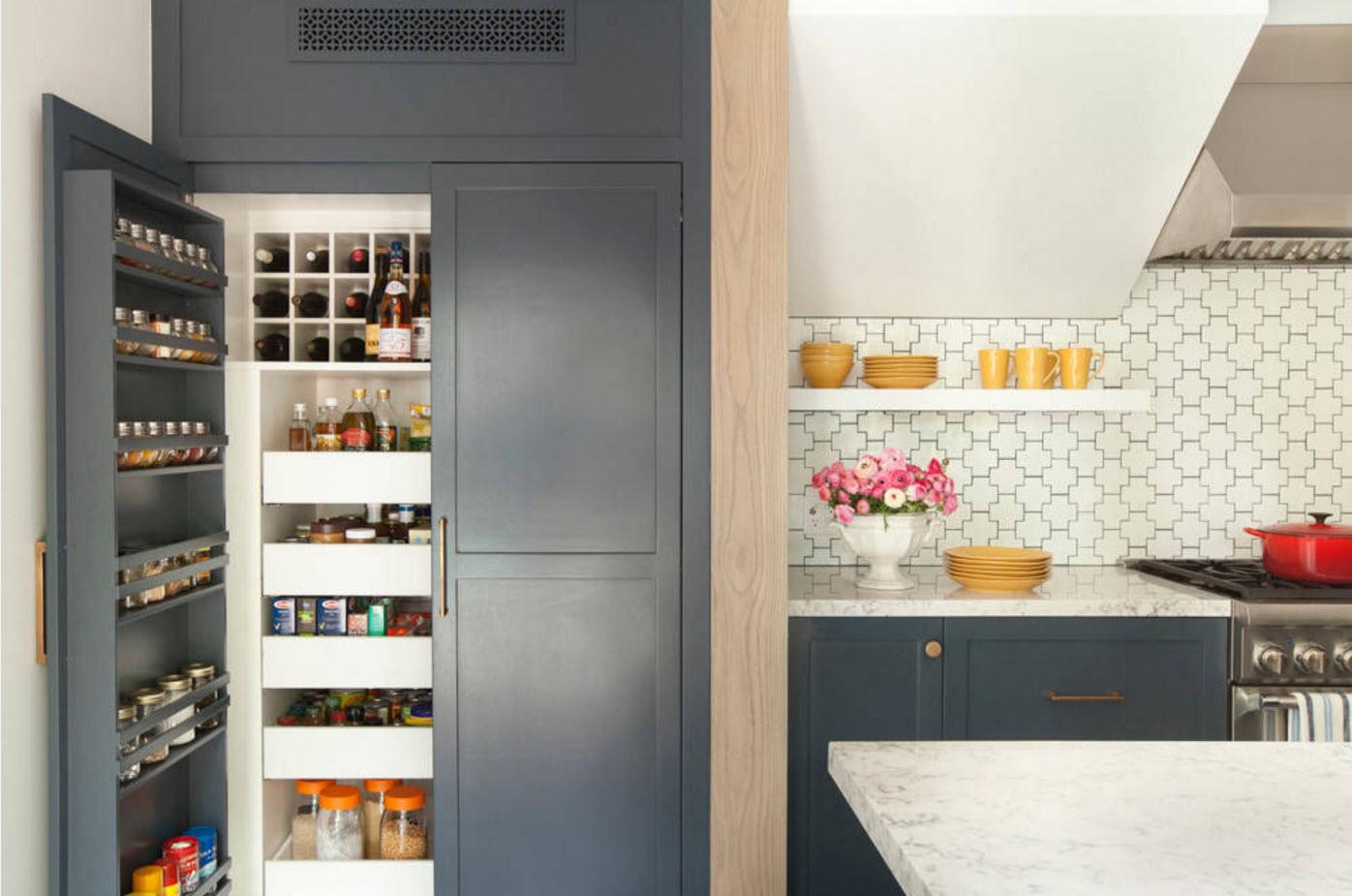 Серые фасады для кухни