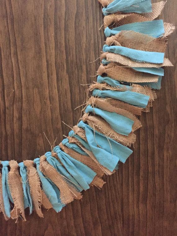 Ленты и кусочки ткани