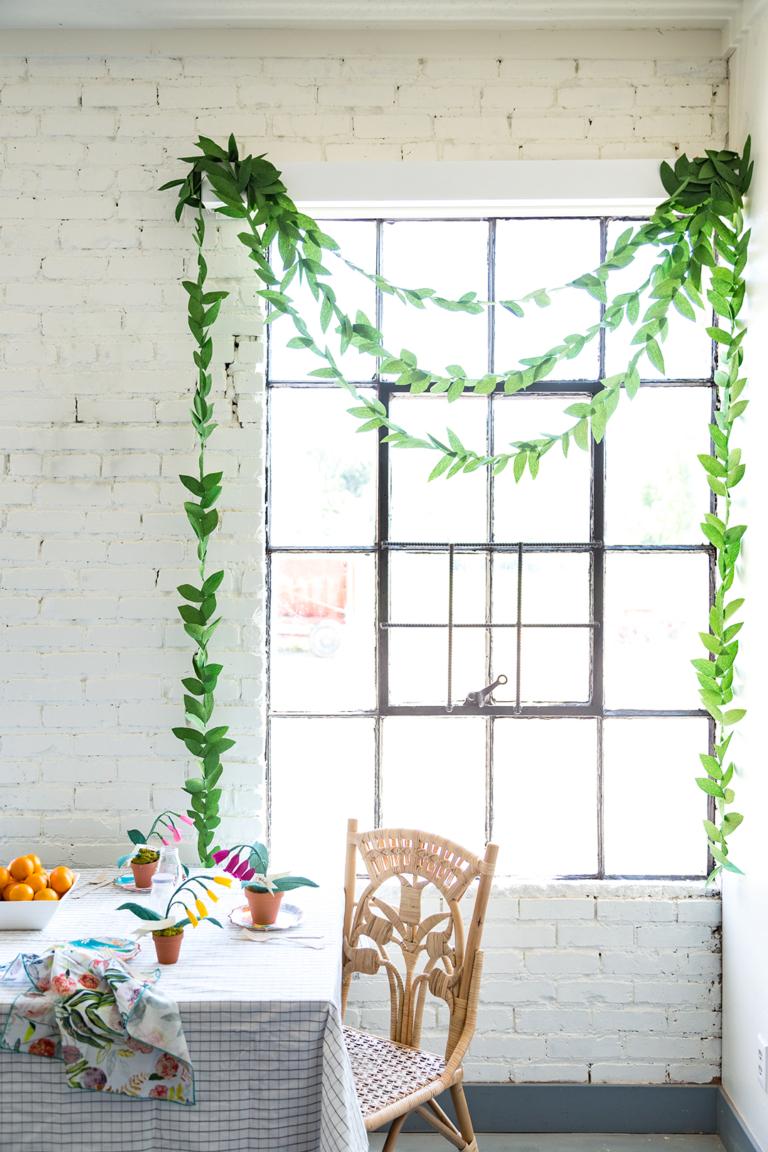 Зелень в качестве декора
