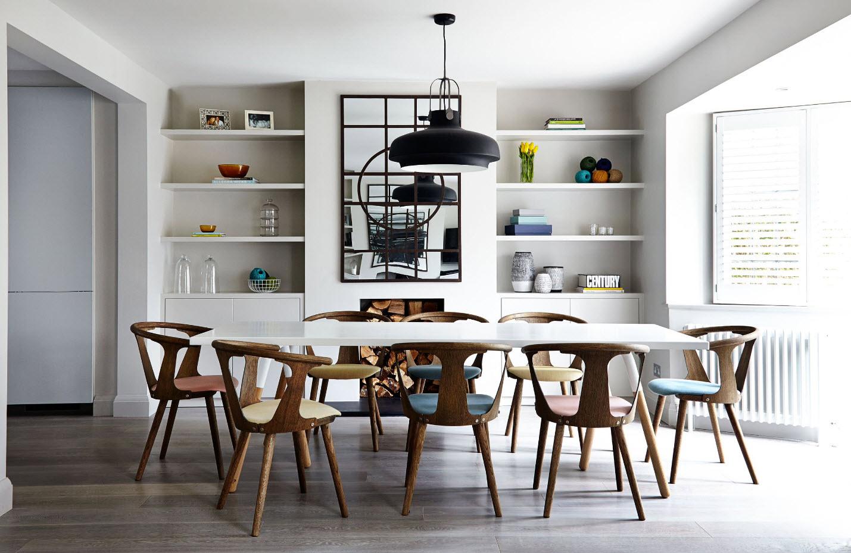100 лучших идей обеденные кухонные столы и стулья на фото