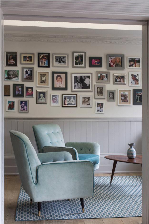 Кресла в пастельных тонах