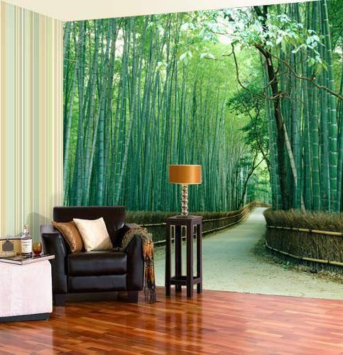 Яркая зелень в гостиной