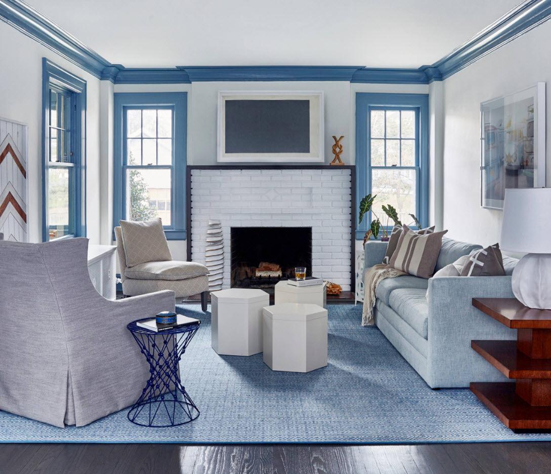 Расположение мягкой мебели