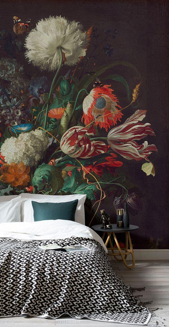 Объемное изображение цветов