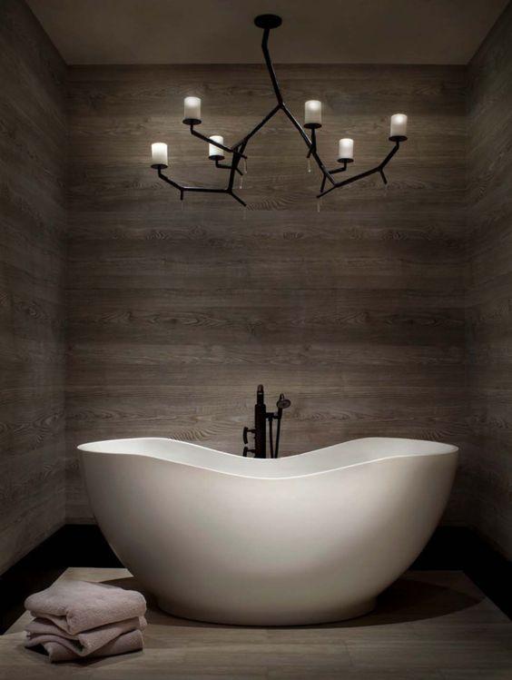 Люстра для дизайна ванной