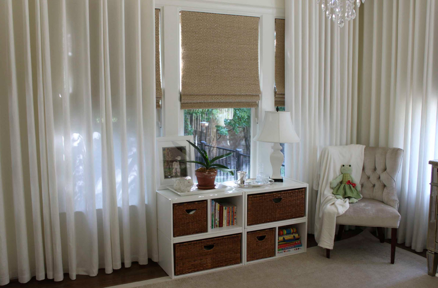 Традиционные и рулонные шторы
