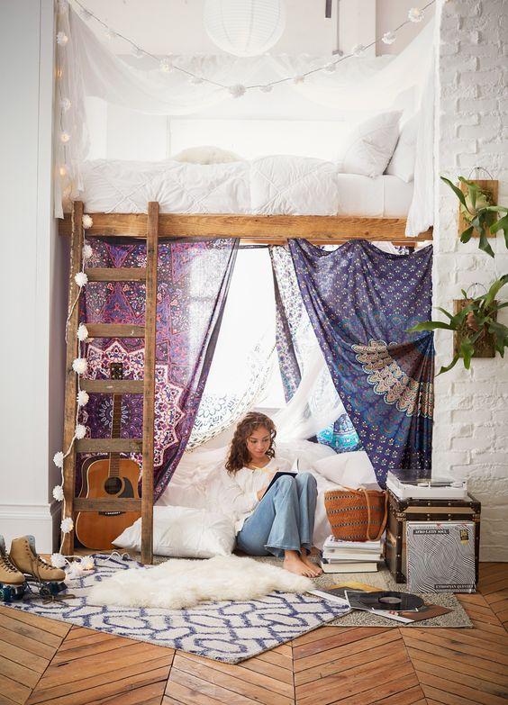 Спальные места в восточном стиле