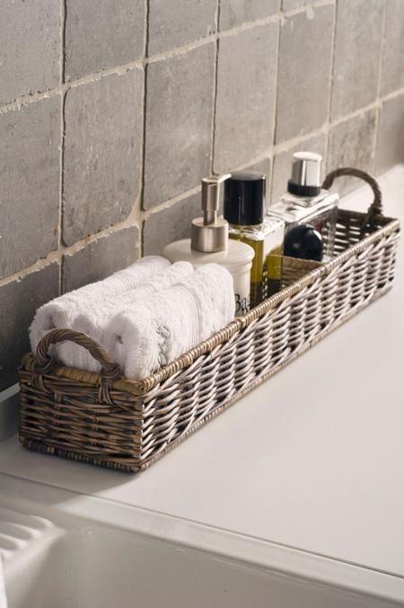 Baskets for bathroom
