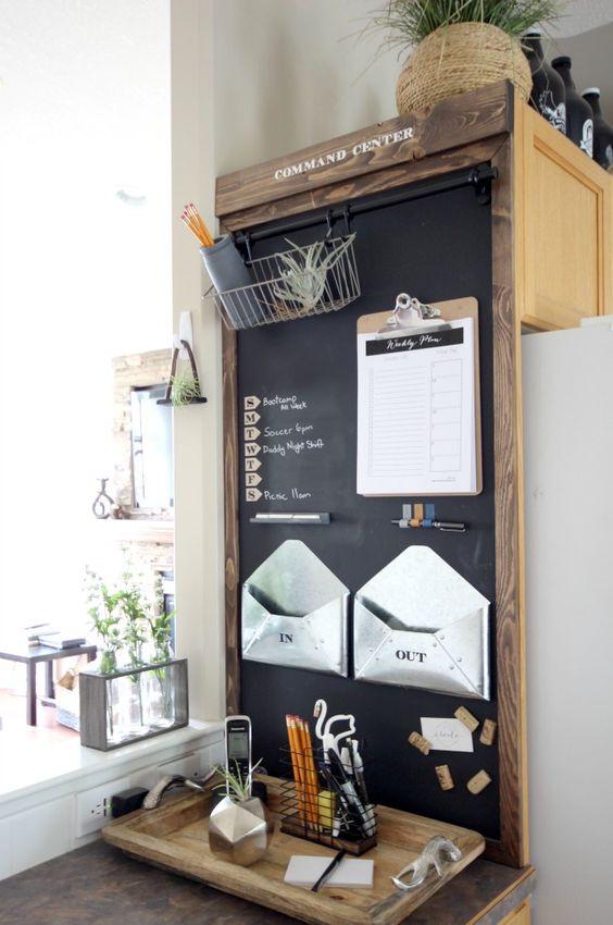 Мини-канцелярия в кухне