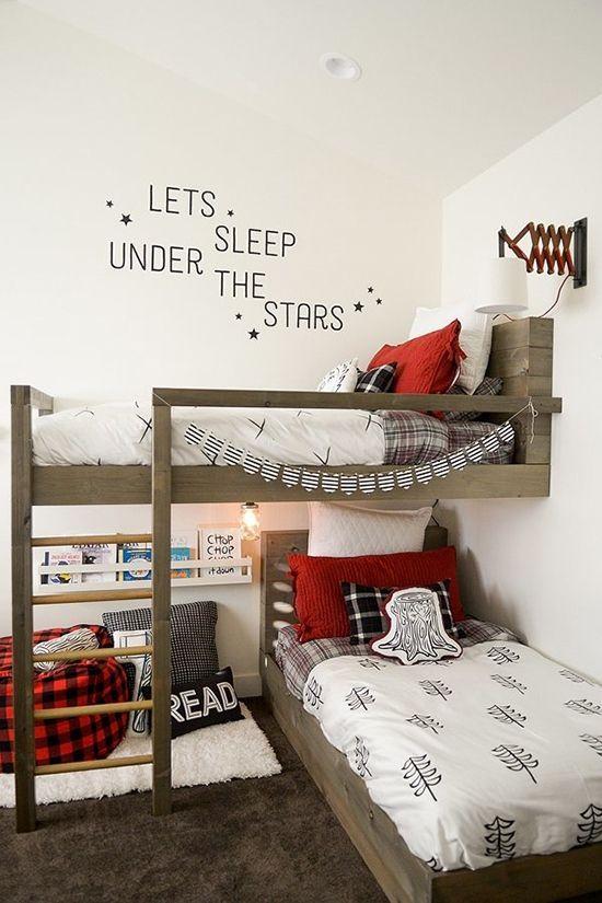 Оригинальное расположение спальных мест