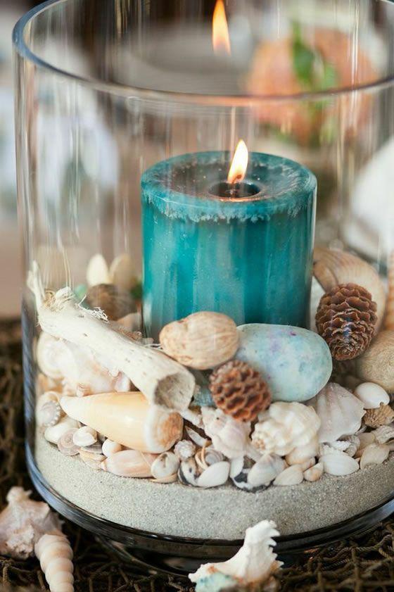 Свеча как декоративный элемент