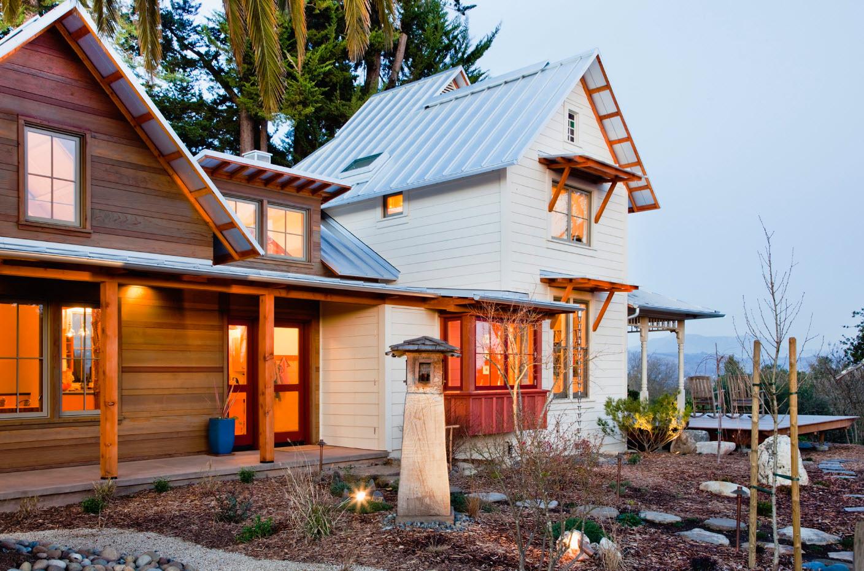Комбинированное исполнение крыши