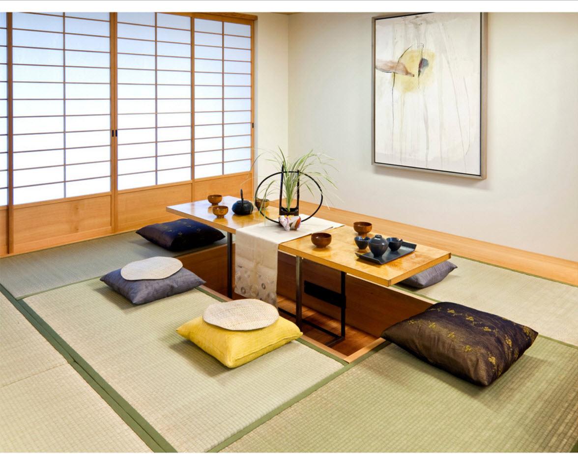 Японские мотивы в дизайне интерьера