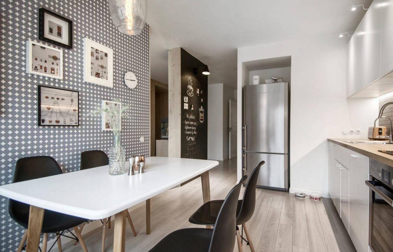 Дизайн ля просторной кухни