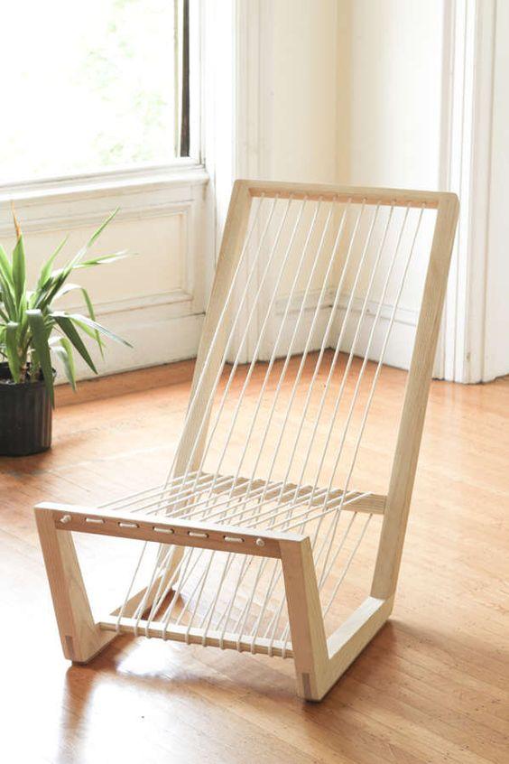 Необычный стул своими руками