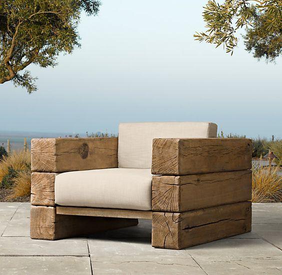 Удобное садовое кресло