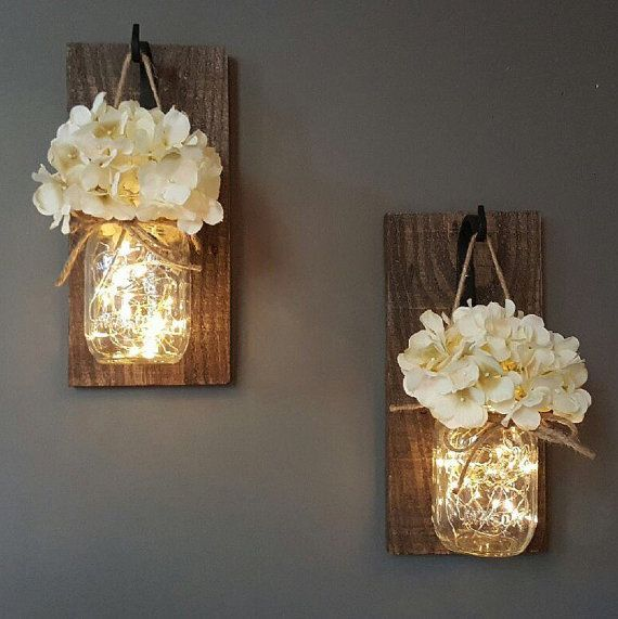 Цветы и лампочки