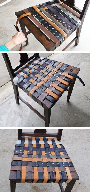 Старые ремни для сиденья