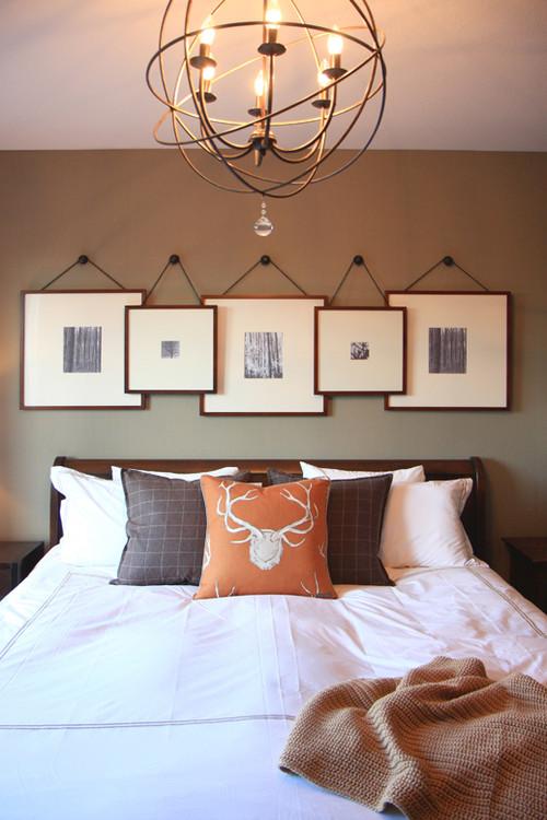 Настенный декор спальни