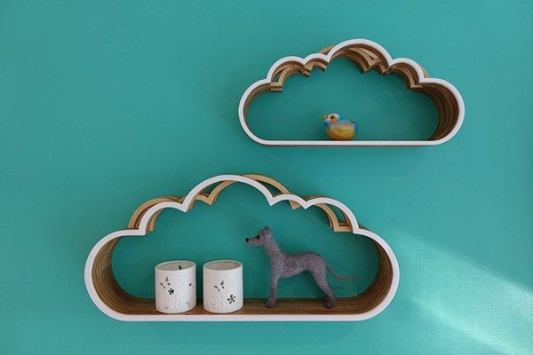 Полочки-облака для детской