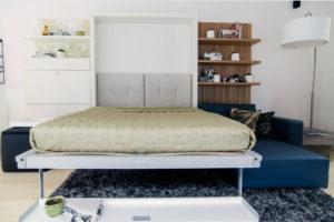 Откидная кровать вертикального типа