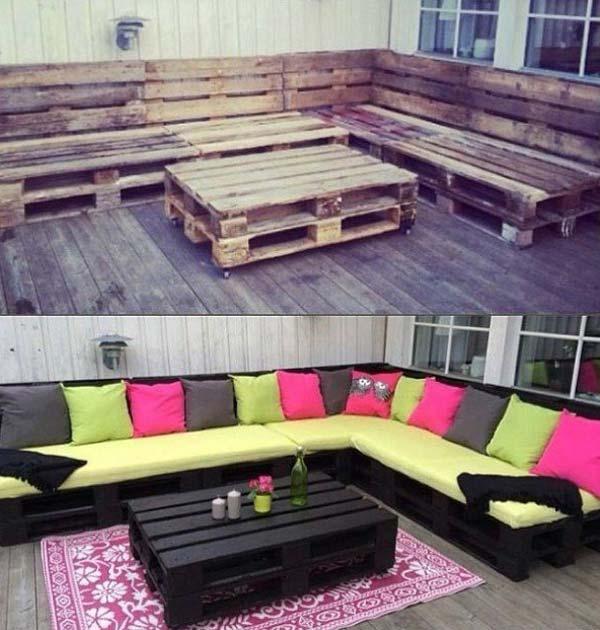 До и после декорирования