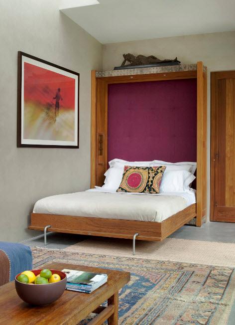 Вертикальная модель кровати