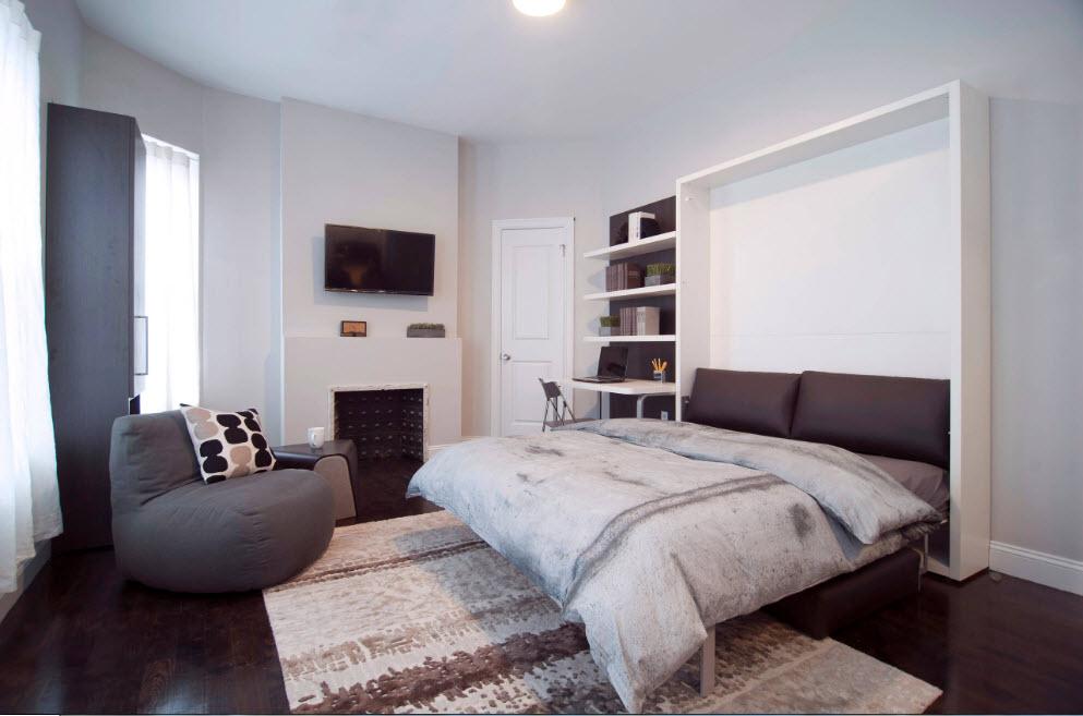 Спальня в гостиной и наоборот