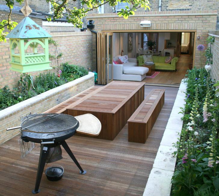 Мебель для трапез на свежем воздухе