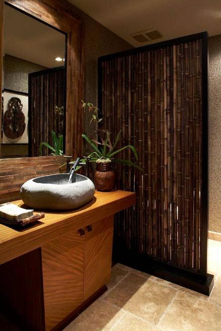 Бамбук в ванной