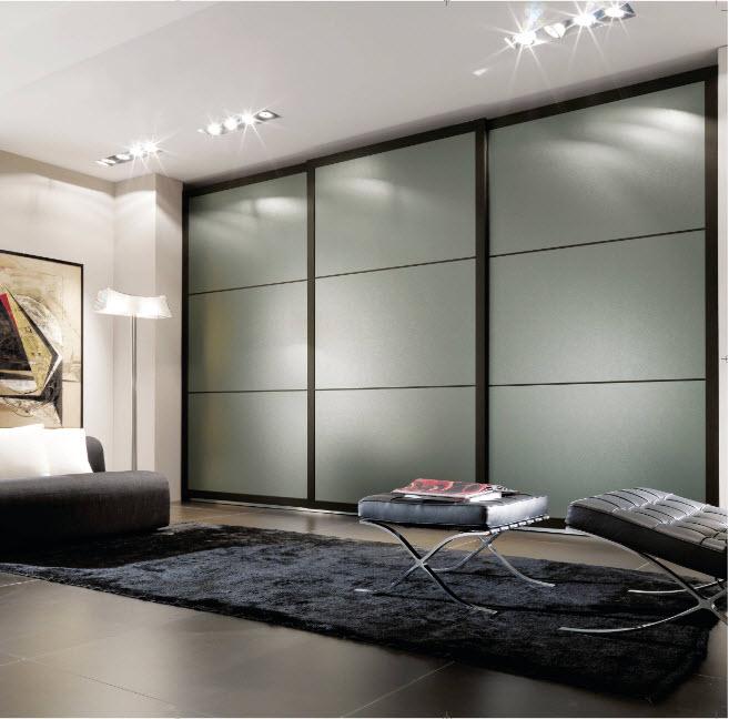Встроенный шкаф для гостиной