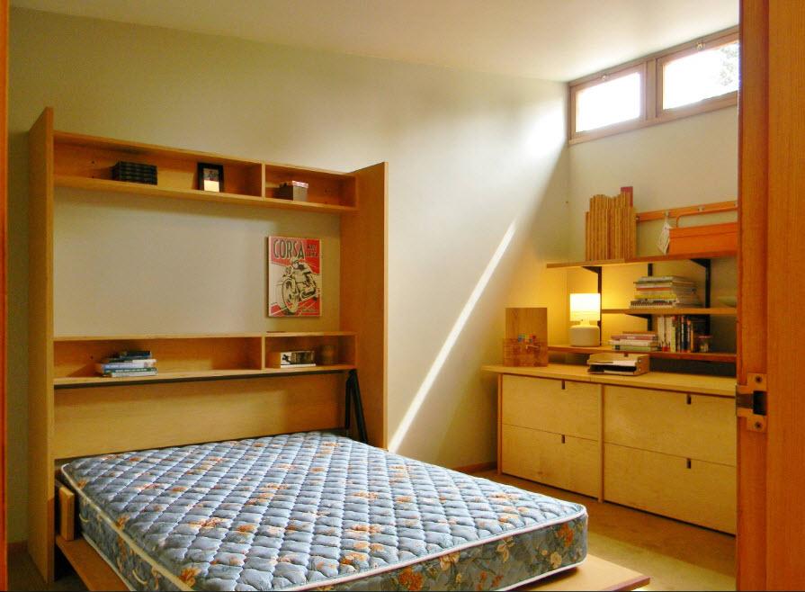 Вертикальная откидная кровать
