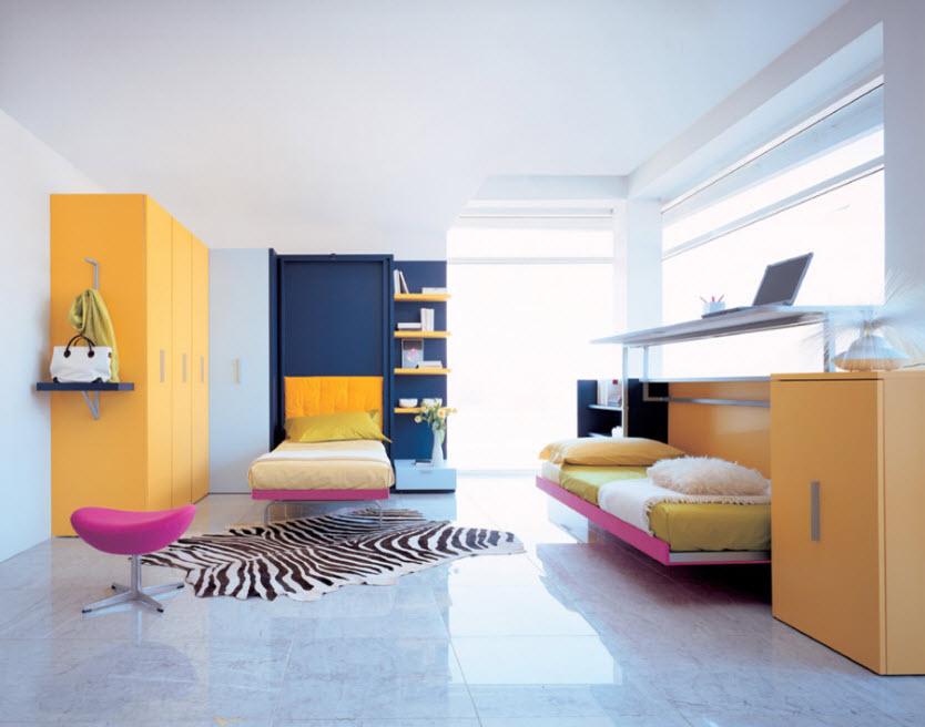 Разнотипные спальные модули