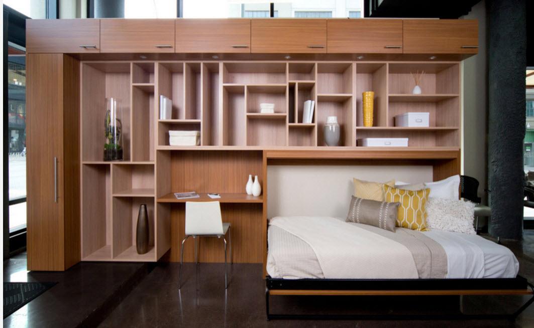 Мебельный гарнитур с кроватью