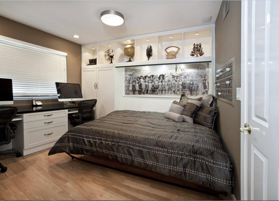 Горизонтальный спальный модуль