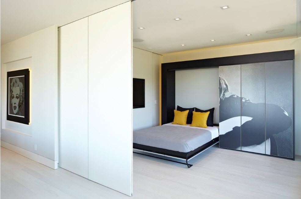 Шкаф с откидной кроватью