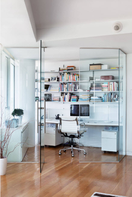 Кабинет за стеклом